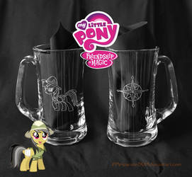 Daring Do beer mug