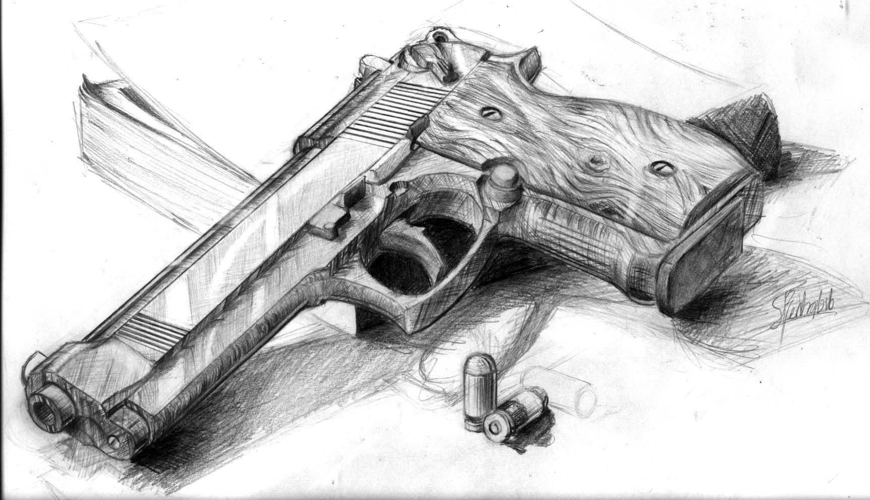 Gun final by sleim on DeviantArt