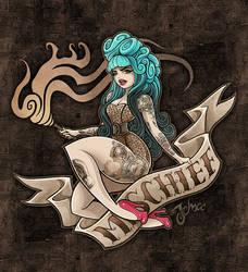 Miss Mischief by nosredna1313