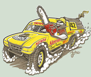 Off-Road Racing Shirt Design by nosredna1313