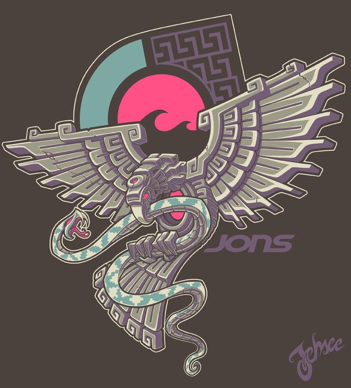 Aztec Eagle by nosredna1313