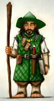 Revel the Halfling Wizard
