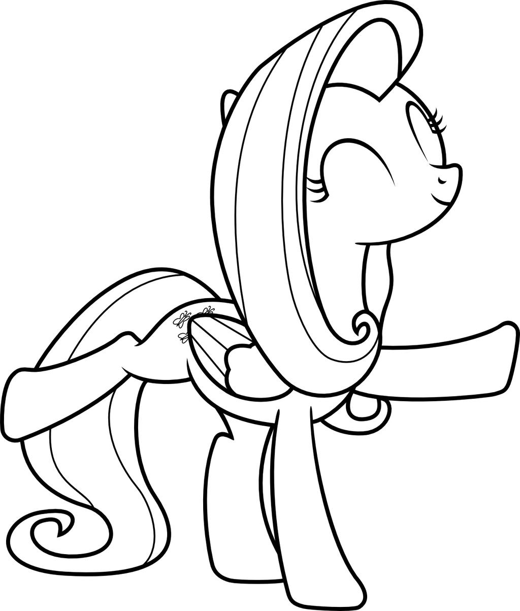 mlp coloring page flutterdance by scienceisanart mlp coloring page flutterdance by scienceisanart - Mlp Coloring Pages