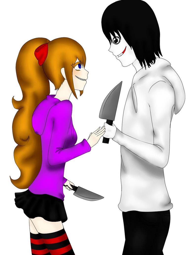 Nina y Jeff the Killer by YuukisamaSuenagaku on DeviantArt