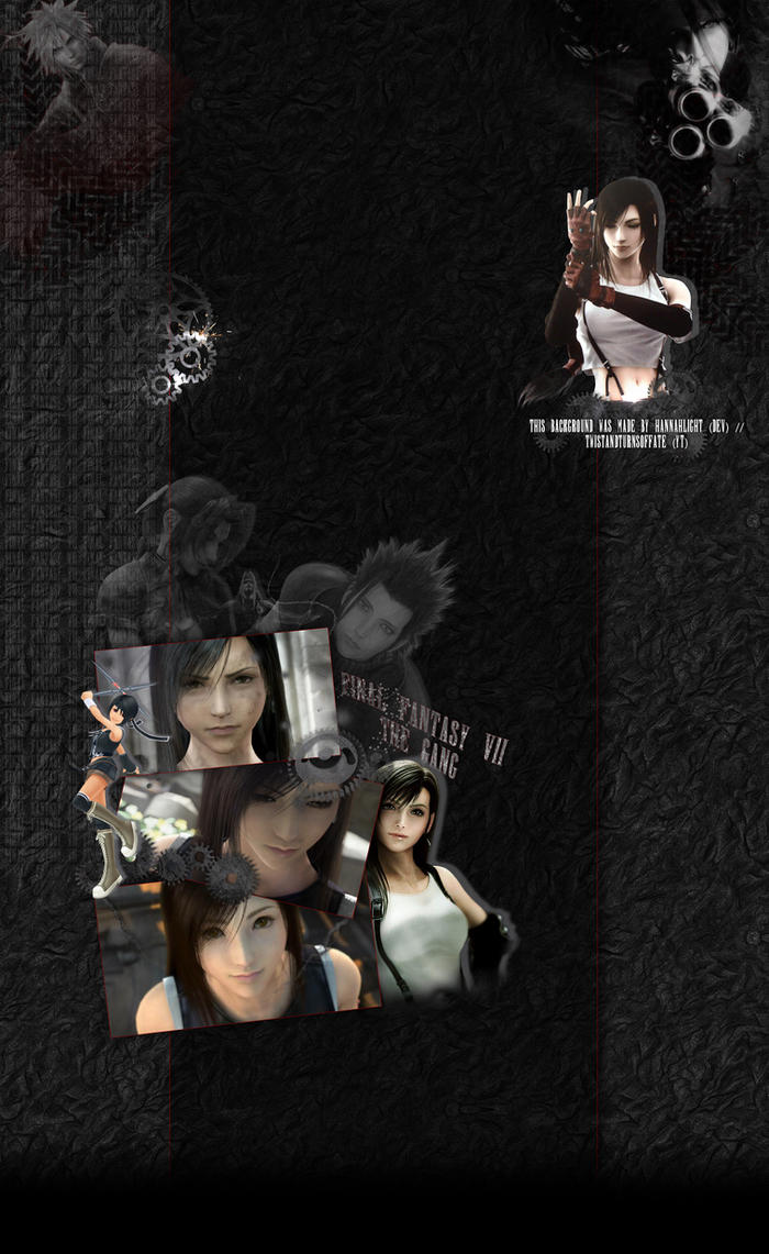 Final Fantasy VII Anivide Background ****FREE**** by HannahLight