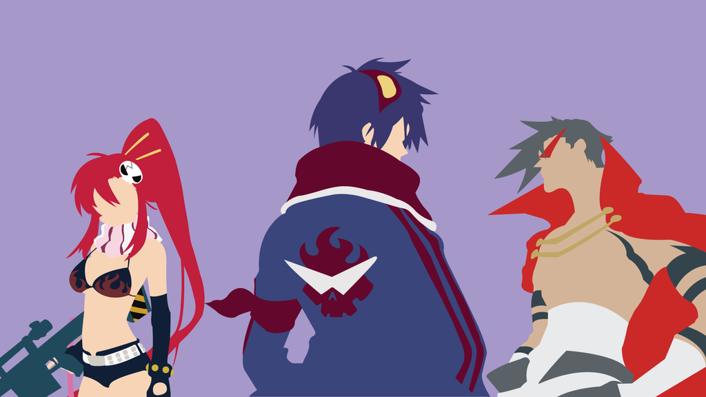 Tengen Toppa - Yoko, Simon and Kamina by TheColdox on ...