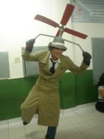 Cosplay: Inspector Gadget by spikespiegelkitsune