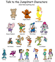 Talk to the JumpStart Characters