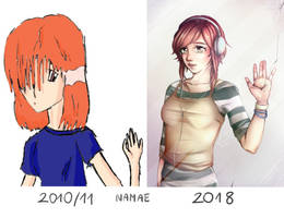My progress by Nama-e