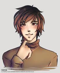 A random guy by Nama-e