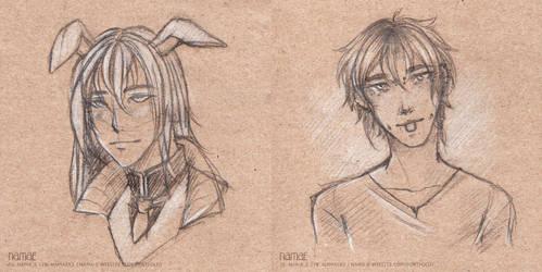 Sketches by Nama-e