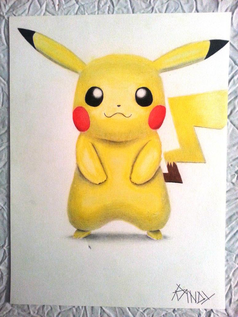 Pikachu by Nindo64