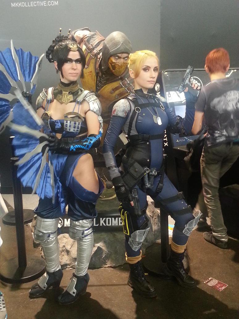 Cosplay : Mortal Kombat X - JE 2015 by Nindo64