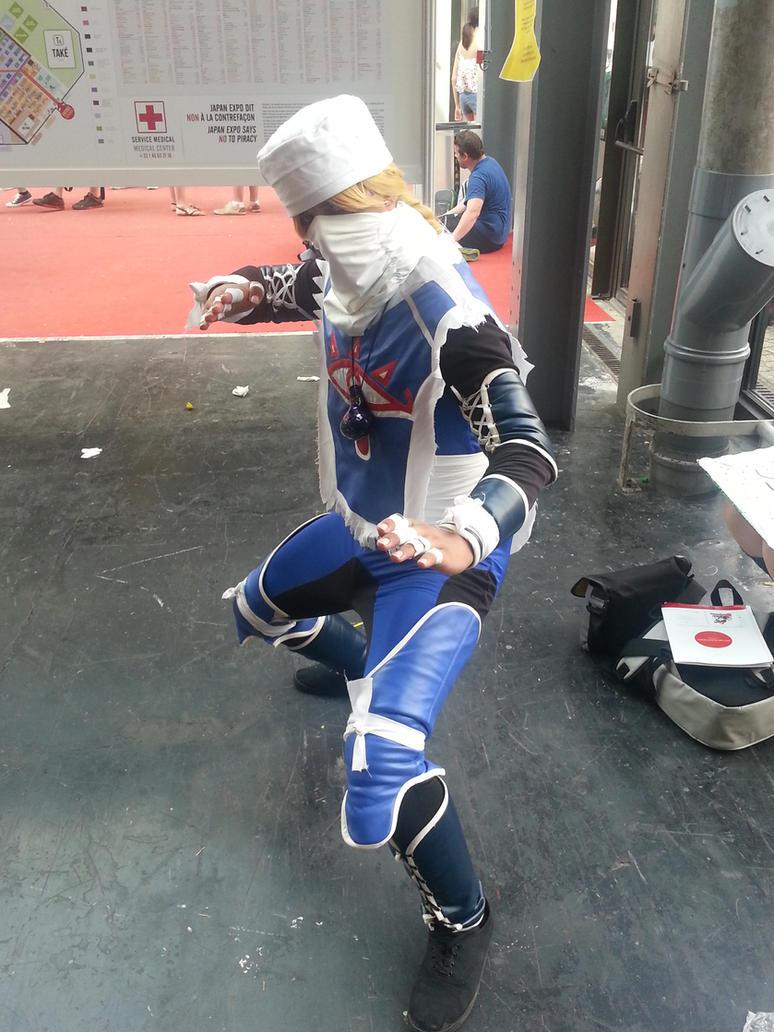 Cosplay : Sheik - JE 2015 by Nindo64