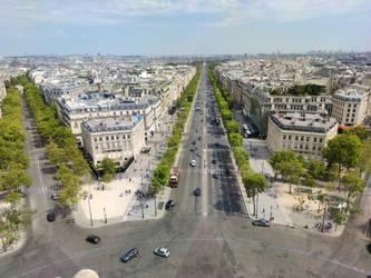 Paris - Arc de Triomphe Rooftop #3 (108Mpx)