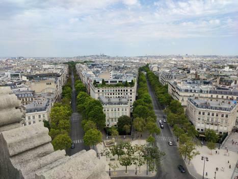 Paris - Arc de Triomphe Rooftop #4 (108Mpx)