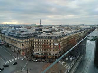 Paris - Galeries Lafayette rooftop #1 (108Mpx)