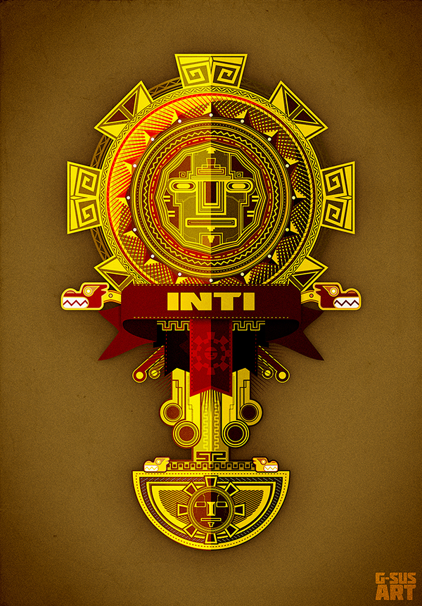 G Sus Art Inti Inca God By Neounicron On Deviantart