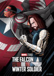 G-SUS ART Falcon And The Winter Soldier