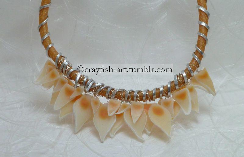 Experimental Necklace by Pythiadelphie