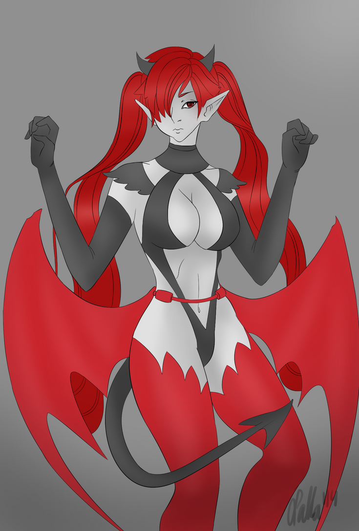 Succubus by Katarii1222