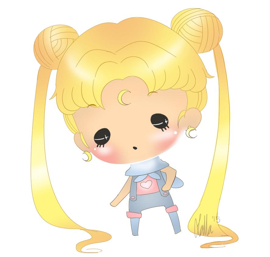 Sailor Mun Chibi by Katarii1222
