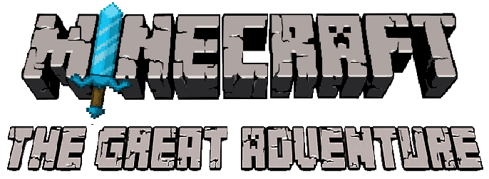 Minecraft The Great Adventure FanGame Logo by TheGoku7729 ...