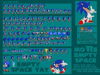 SADX Sonic Sheet by TheGoku7729