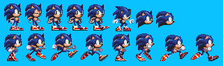 More Poses Sonic Adventure Sheet by TheGoku7729