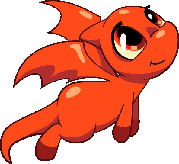 Red Shoyru Redo by Tibby-Kitty