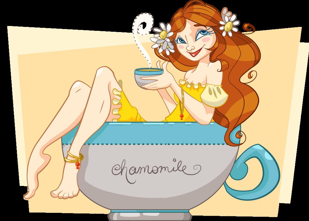 Chamomile Tea by Tibby-Kitty