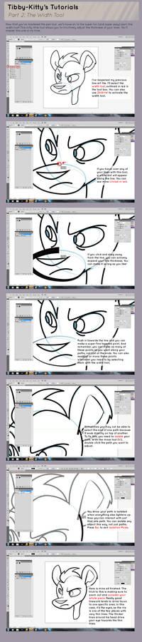 Illustrator Tutorial Part 2: The Width Tool