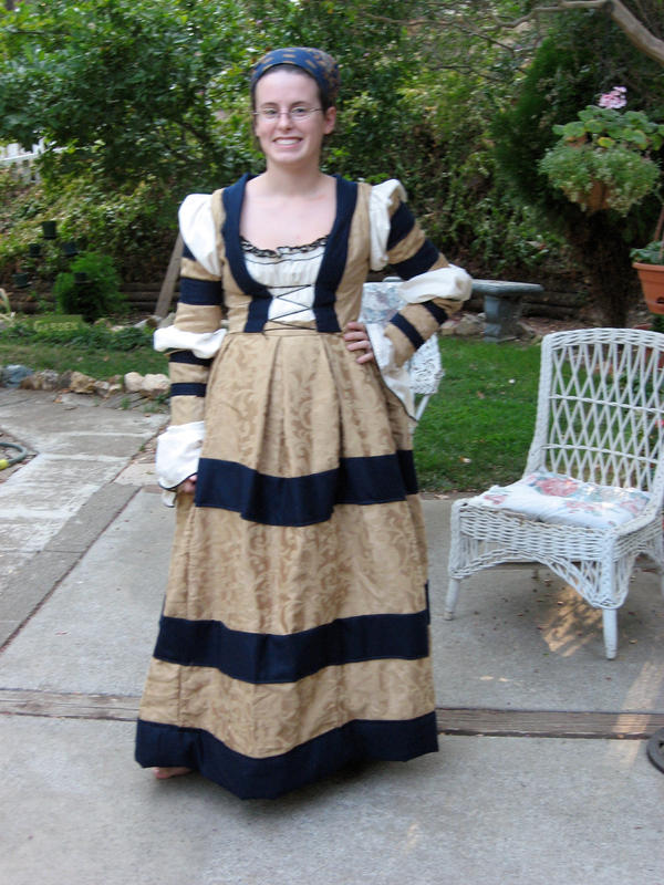 Cranach gown in progress by accooper on DeviantArt