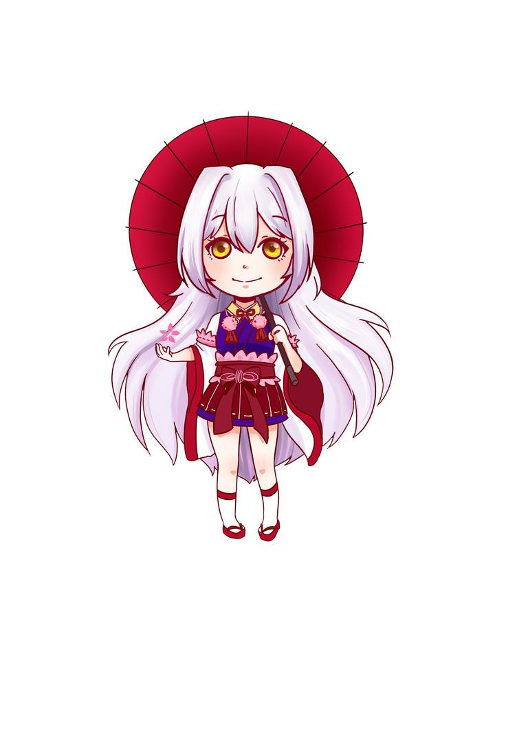 Cherry Witch Wallpaper Mobile Legend Kagura