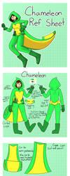 Chameleon+Jackie Reference Sheet by SpectacularJupiter