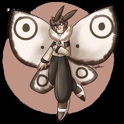 Moth Kid by SpectacularJupiter