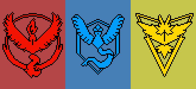 Pokemon Go Team Logos By Caloyelboy On DeviantArt