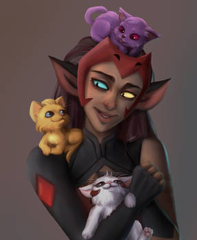Catra and some kitties