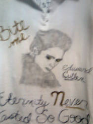 The front of the Edward TShirt