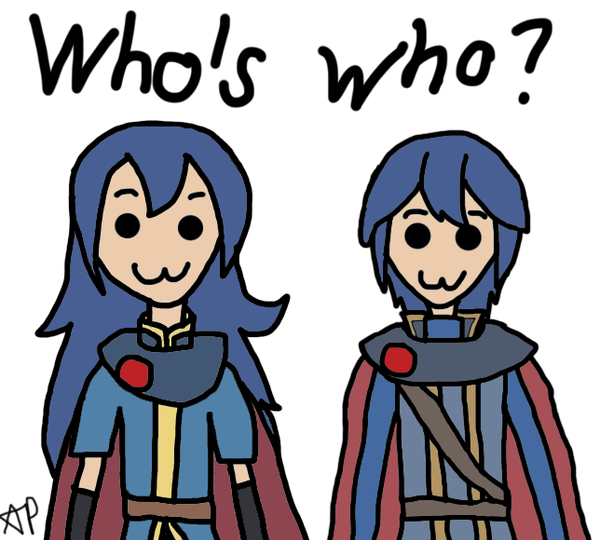 Who's who? by 5DsPeach