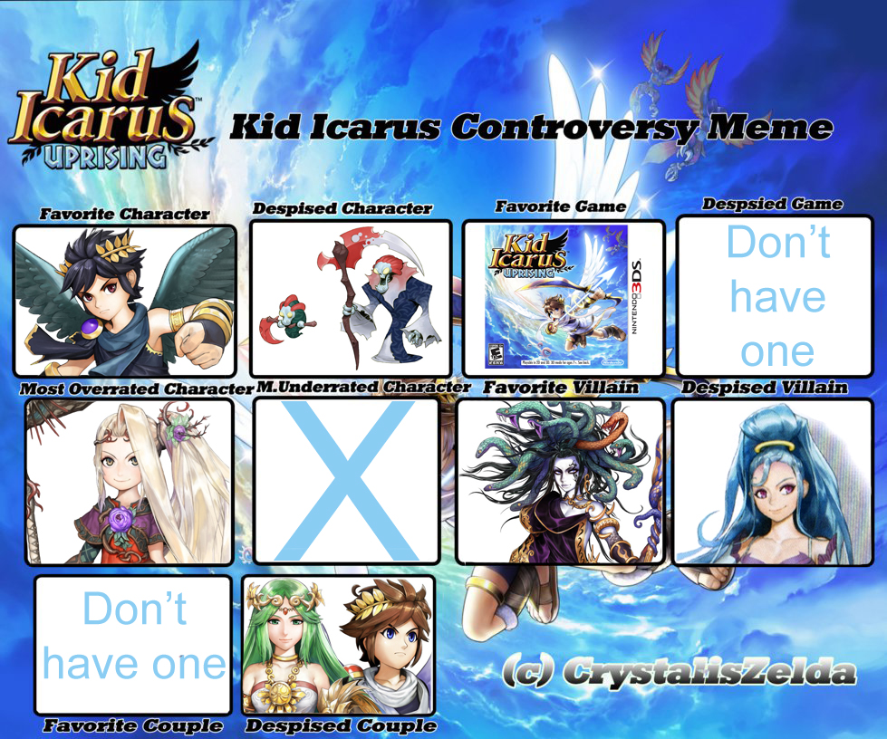 Kid Icarus Controversy Meme by 5DsPeach