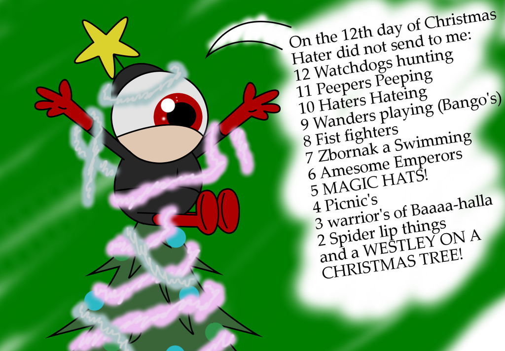 On the 12th day of christmas.... by 10SHADOW-GIRL10 on DeviantArt