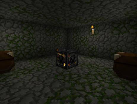 My own Minecraft dungeon 2.