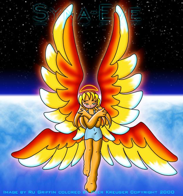 syna eve fire angel