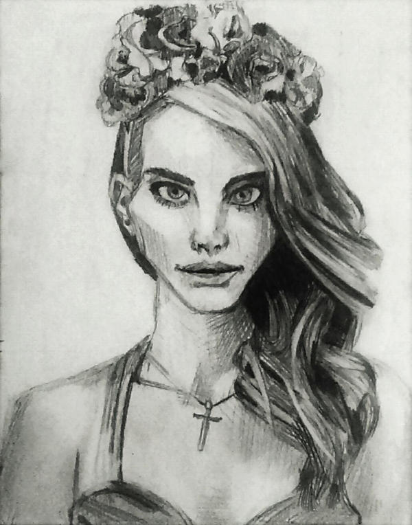 Lana Del Rey by PrincessWilfred