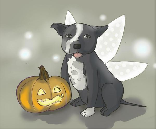 Fairy Dog by PrincessWilfred