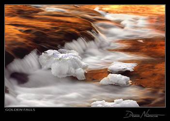 Golden Falls by Davenit