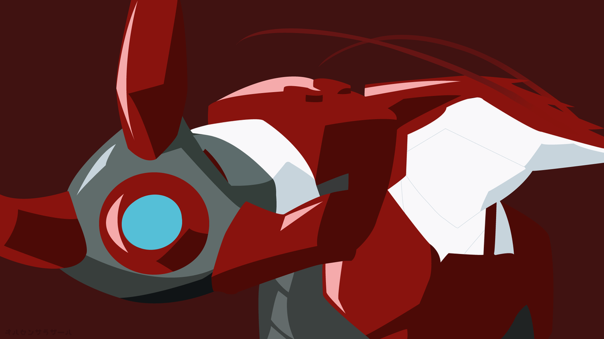 Iron Shrimp Man (Minimalist Walpaper) by DaxterYx12