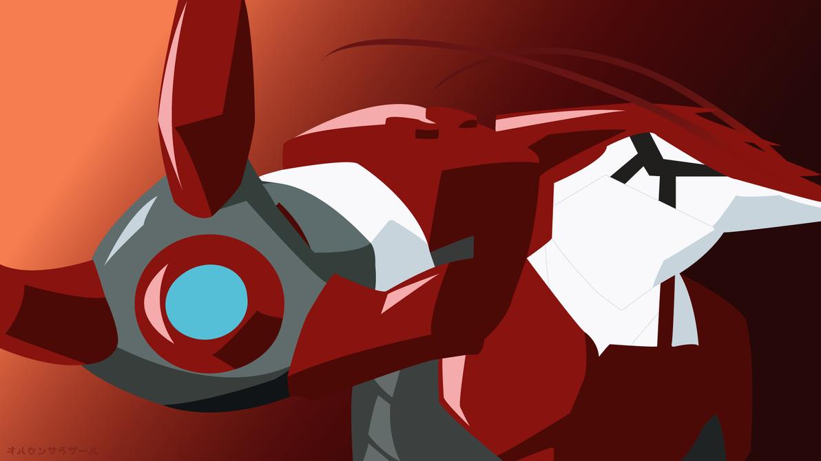Iron Shrimp Man(Vector Wallpaper) by DaxterYx12