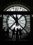 Paris Time II - Silhouettes